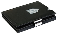 Exentri Black Leather Wallet  (RFID BLOCK)