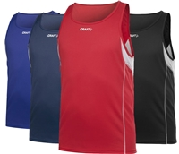 Craft T&F Singlet herre