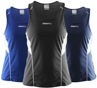 Craft T&F Singlet dame